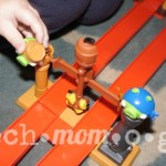 ANGRY BIRDS GO! Telepods Pig Rock Raceway Set Review