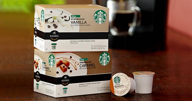 Starbucks K-cup BOGO