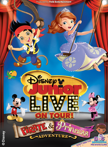 Giveaway: Disney Junior Live On Tour! Pirate & Princess Adventure