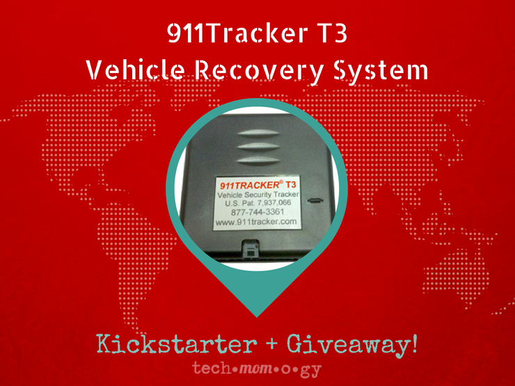 911Tracker T3 Vehicle Recovery System | Kickstarter Campaign
