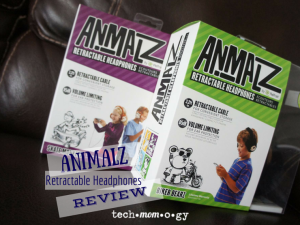 Animalz Retractable Headphones featured
