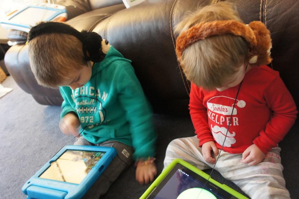 Animalz Retractable Headphones_My Boys