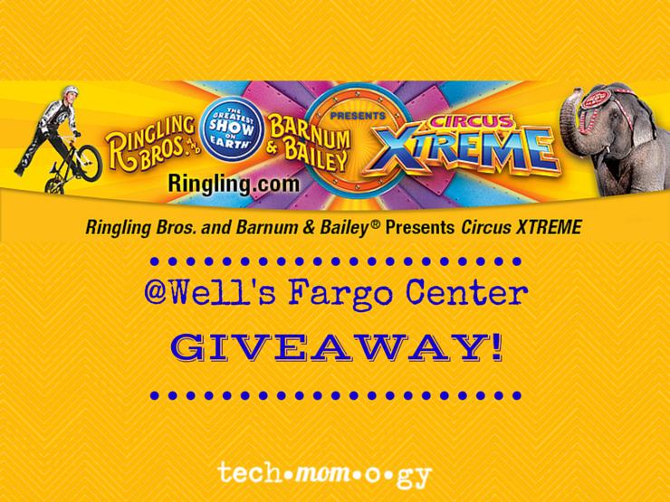 Giveaway: Ringling Bros.® Presents CIRCUS XTREME