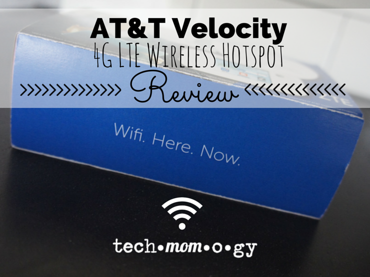 AT&T Velocity 4G LTE Wiresless Hotspot Review #FamilyFOMO_Techmomogy Featured