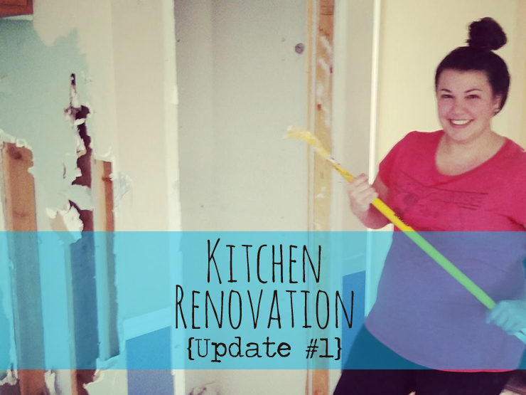Kitchen Renovation {Update #1} | Techmomogy@Home