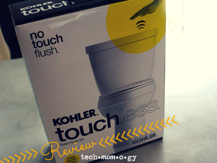 Kohler Touchless Toilet Flush Kit Review_Techmomogy Featured