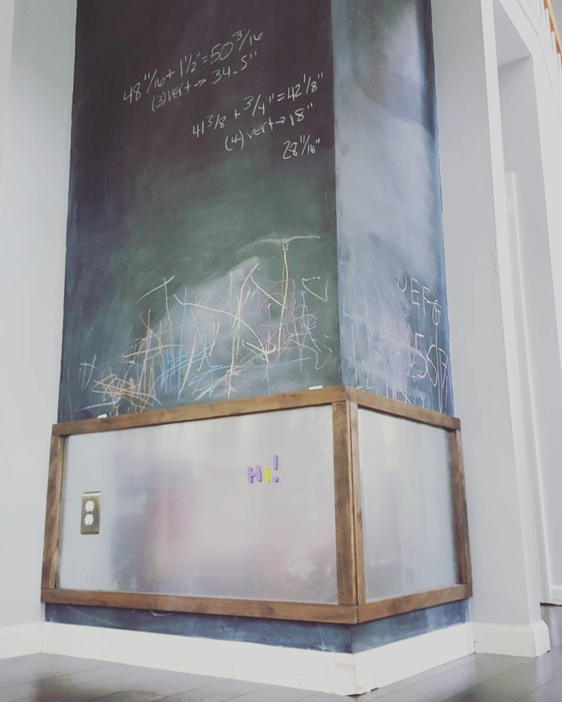 [Instagram]Check out the boys' chalkboard…