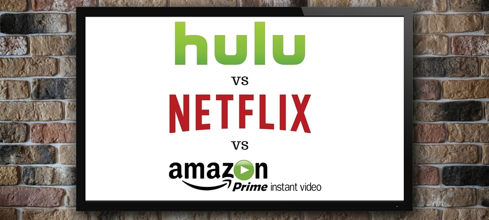 Hulu vs. Netflix vs. Amazon Prime | Comparing Streaming Services