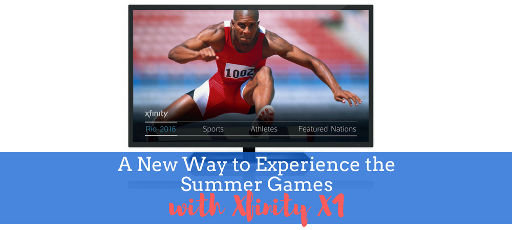 A New Way to Experience the Summer Games with Xfinity X1