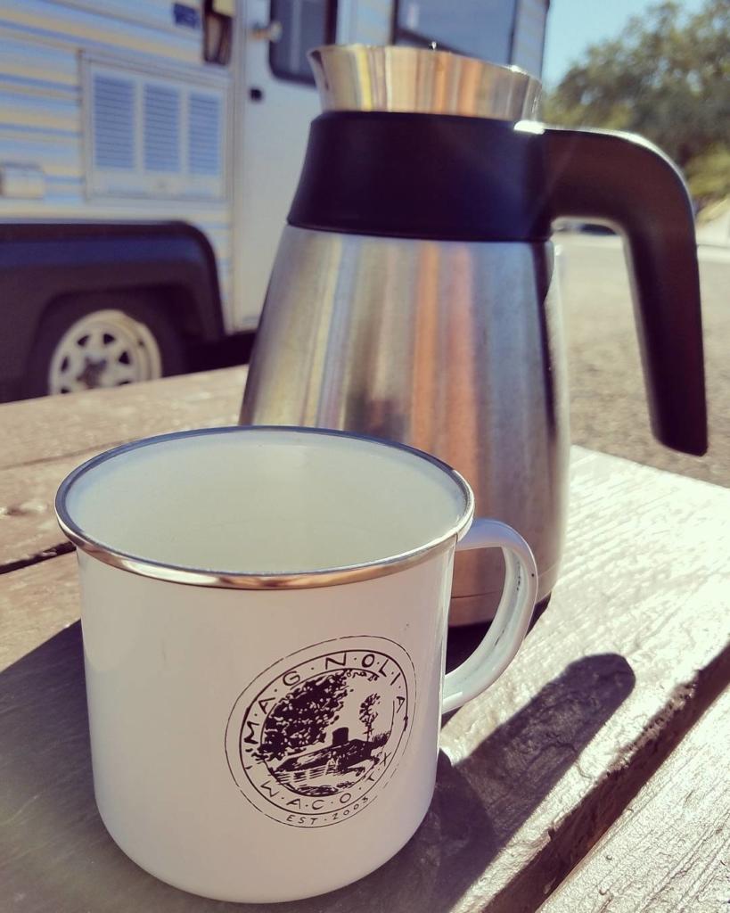[Instagram]Enjoying coffee this morning at…