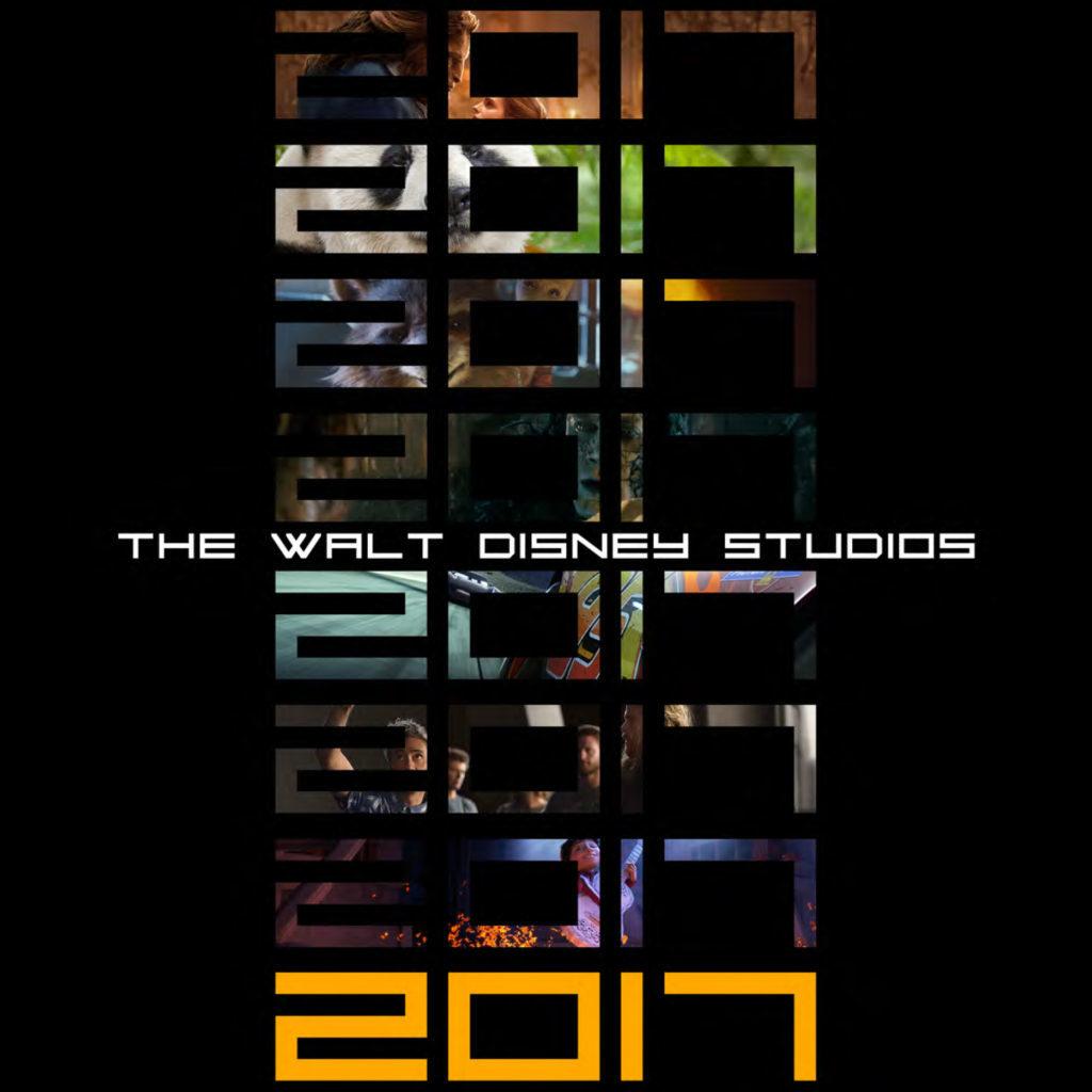2017 Walt Disney Studios Motion Pictures Slate!