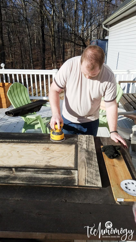 DIY Wood Mirror - Techmomogy