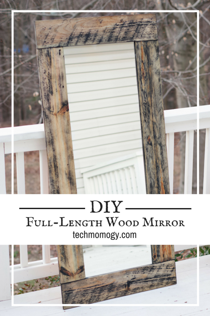 DIY Full Length Wood Mirror