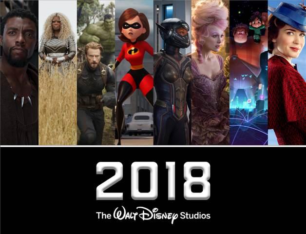 2018 Walt Disney Studios Motion Pictures Slate!