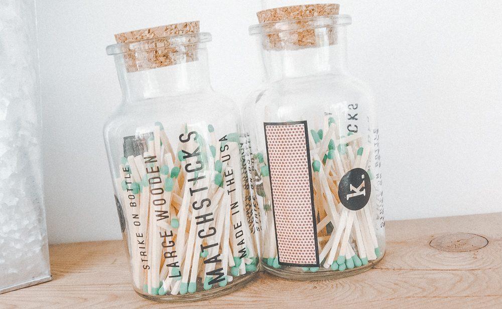 DIY Matchstick Apothecary Jars -Techmomogy