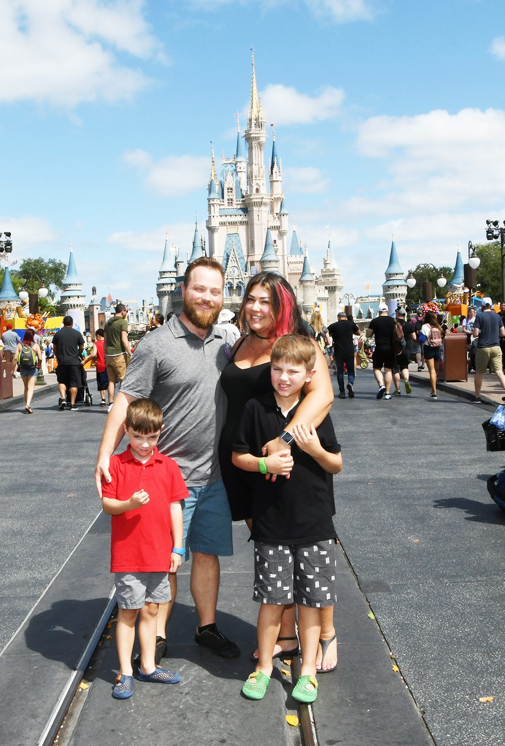 The Kobilka Family at Disney 2019 - Techmomogy