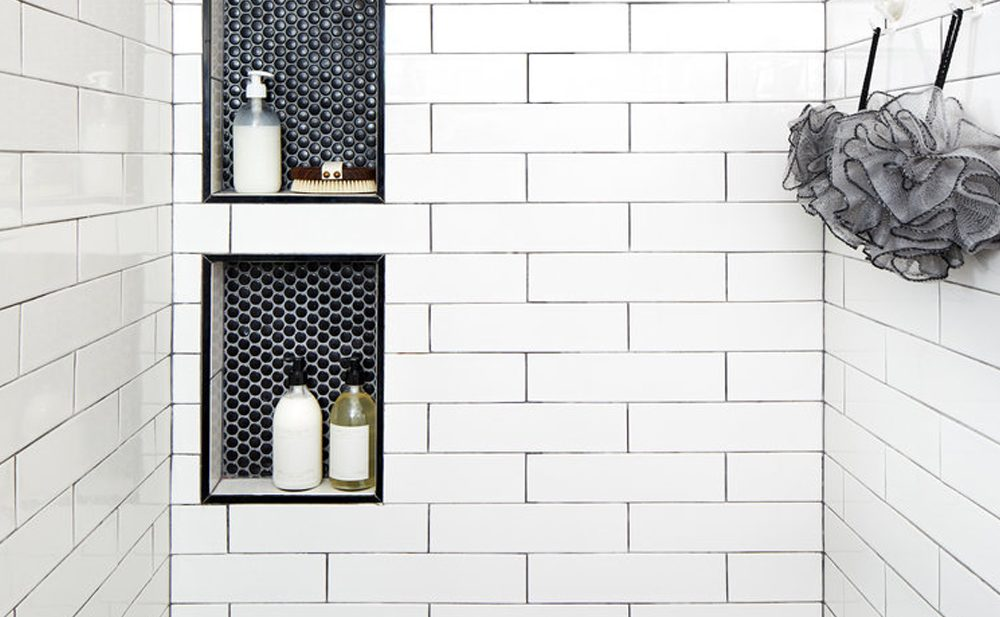 Inspiration for our Guest Bathroom from interior design firm, Zoe Feldman Design.