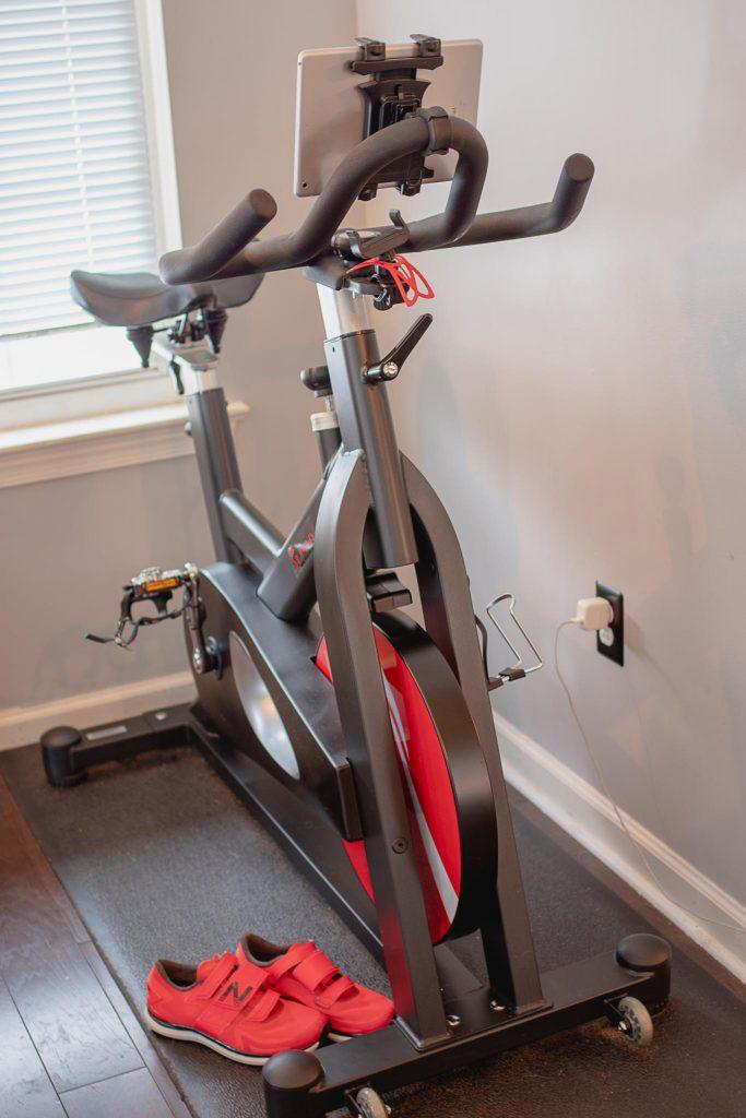 My Peloton Bike Alternative by Techmomogy - full bike setup with accessories