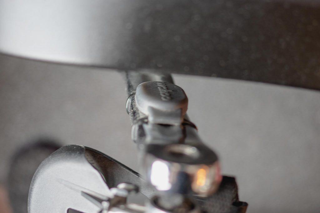 My Peloton Bike Alternative by Techmomogy - Wahoo Cadence sensor mounted to crank arm