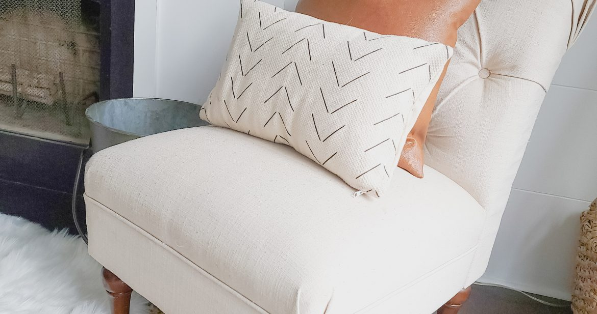 Woven Nook Pillows on Target Chair